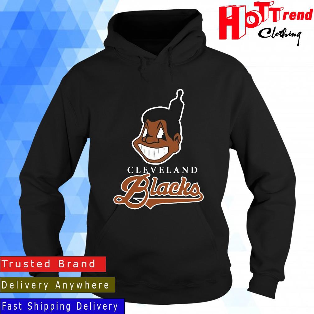 Cleveland Indians Blacks Shirt Hoodie