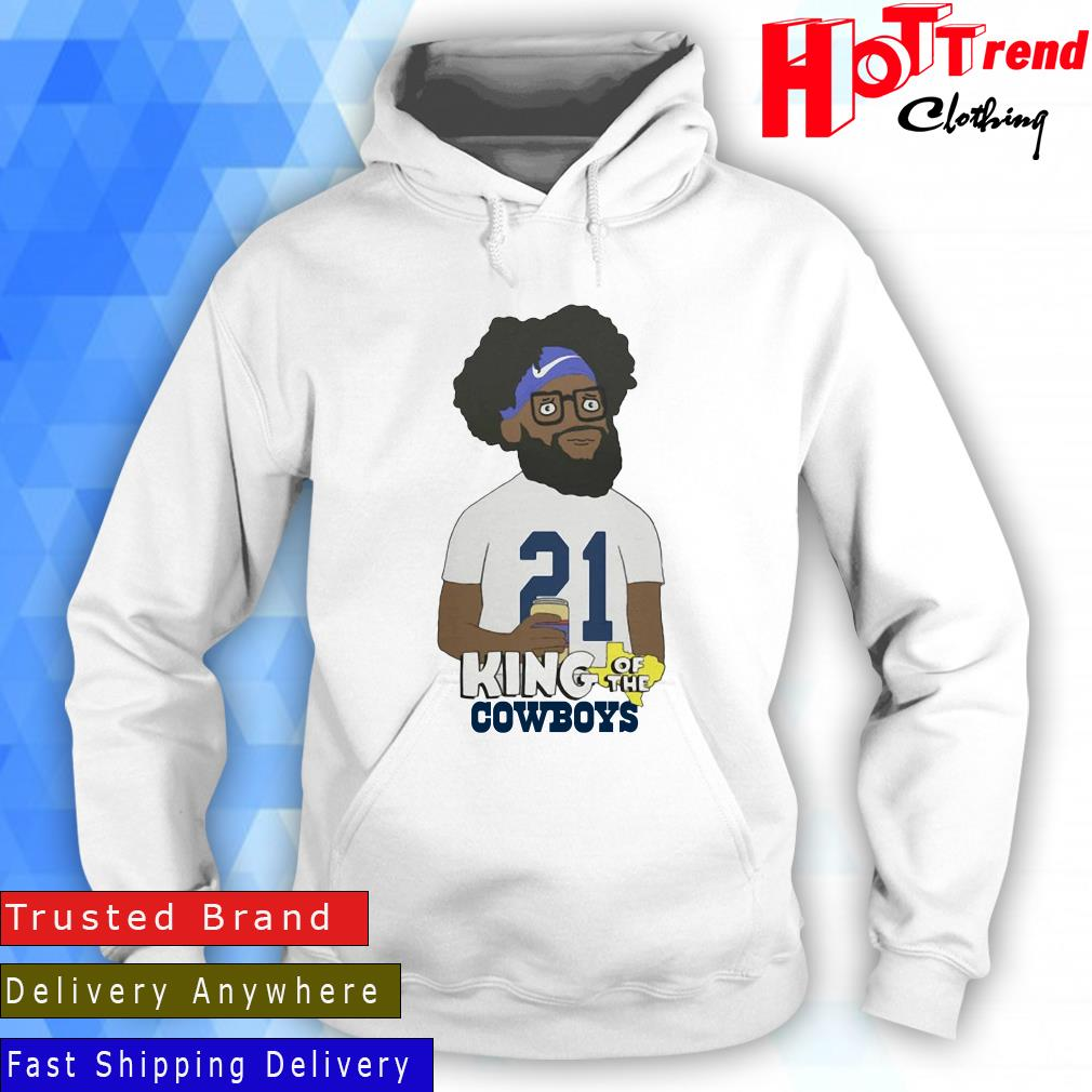 Ezekiel Elliott King Of The Cowboys Shirt Hoodie