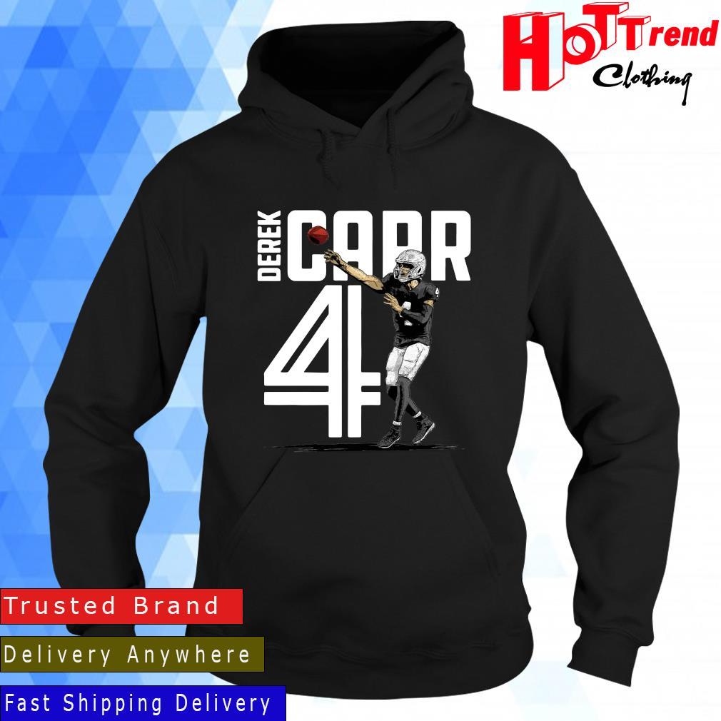 Las Vegas Raiders Derek Carr Inline Shirt Hoodie