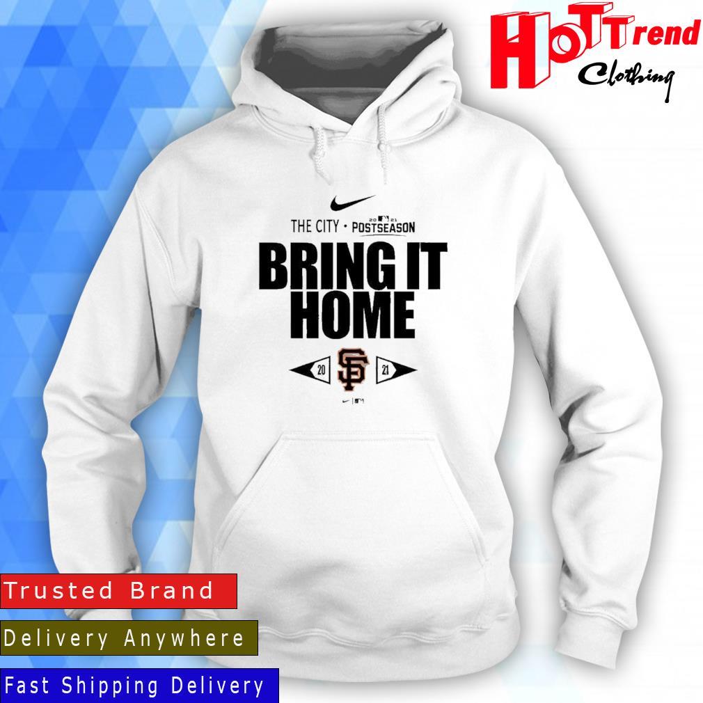 San Francisco Giants Nike The City 2021 Postseason Bring It Home Hoodie