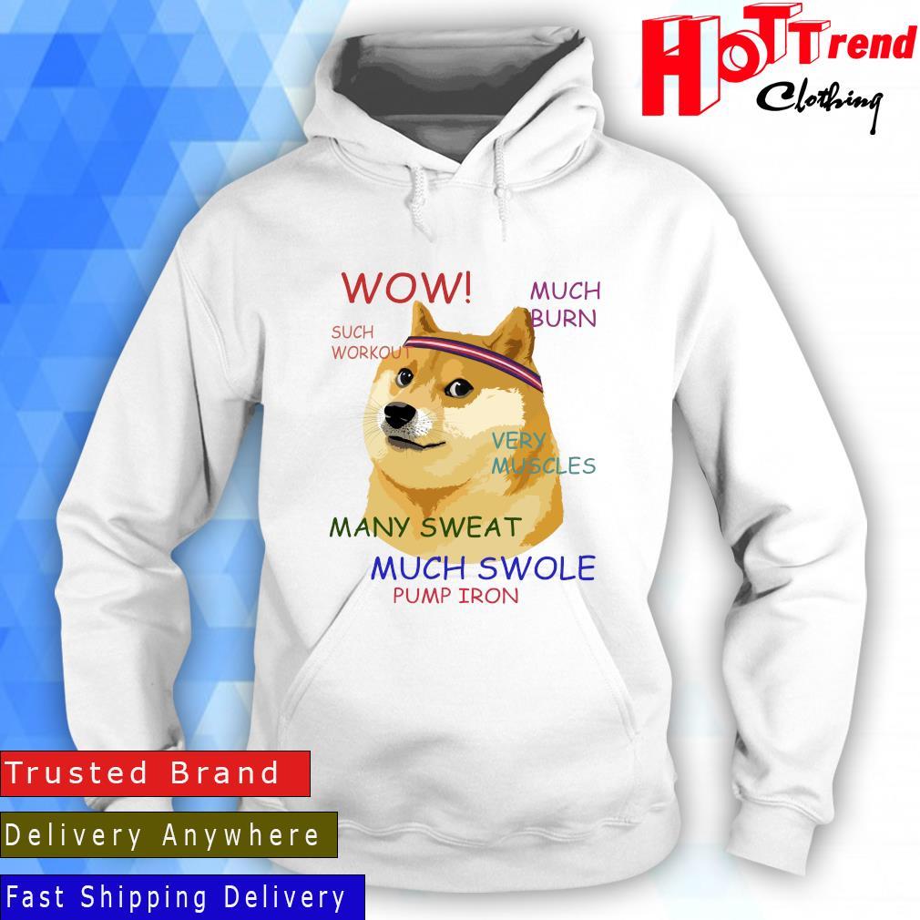 Very Fitness Doge Meme Shirt Hoodie